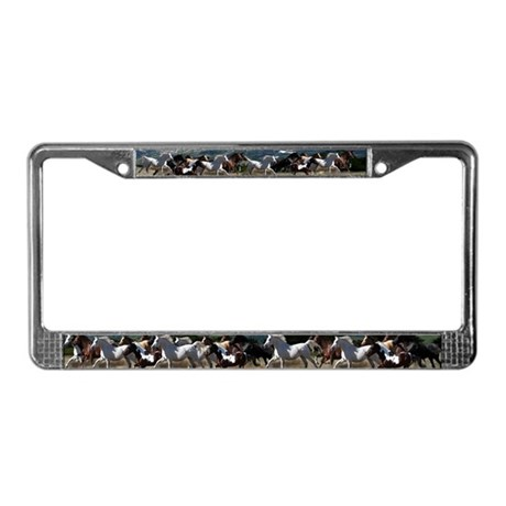All the Pretty horses License Plate Frame