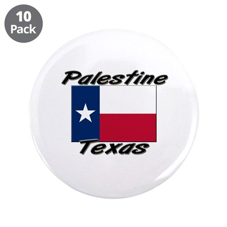 "Palestine Texas 3.5"" Button (10 pack)"
