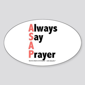 ASAP Oval Sticker