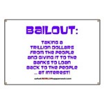 BAILOUT Banner