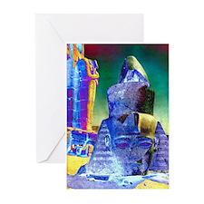 Ramses at Luxor - Greeting Cards (Pk of 10)