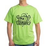 Original skull Green T-Shirt