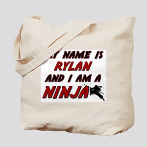 my name is rylan and i am a ninja Tote Bag