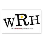 WRH Logo Rectangle Sticker