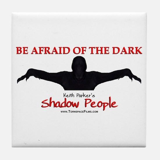Shadow People - Logo Tile Coaster