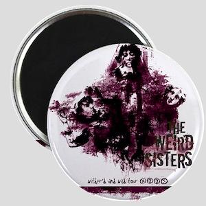 Weird Sisters Tour Magnet