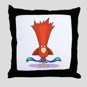 Topnotch Bird Throw Pillow