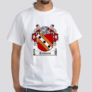 Cannon Coat of Arms White T-Shirt