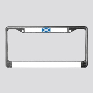 scotland flag scottland License Plate Frame