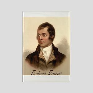 Robert Burns Portrait Rectangle Magnet