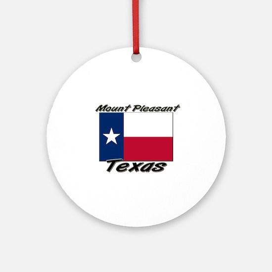 Mount Pleasant Texas Ornament (Round)
