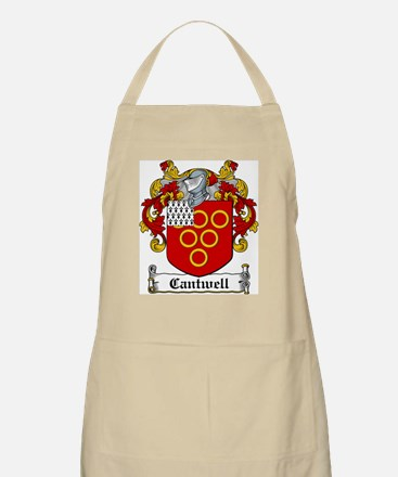 Cantwell Coat of Arms BBQ Apron