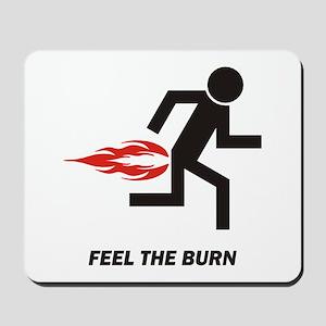 Burn Mousepad