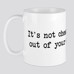 It's not cheating if...zipcod Mug
