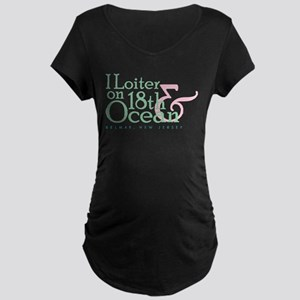 Djais Belmar Maternity Dark T-Shirt