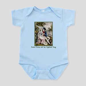 Robert Burns & Highland Mary Infant Bodysuit