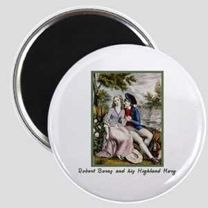 Robert Burns & Highland Mary Magnet