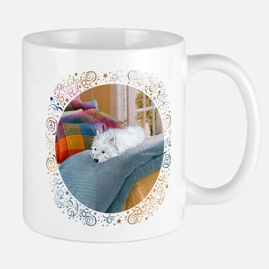 Westie Napping Mug