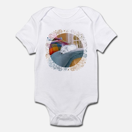 Westie Napping Infant Bodysuit
