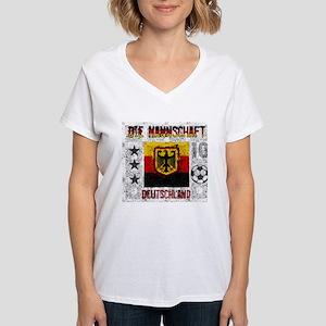 Die Mannschaft Women's V-Neck T-Shirt