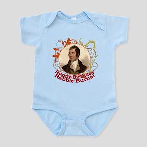 Happy Birthday Rabbie Burns Infant Bodysuit