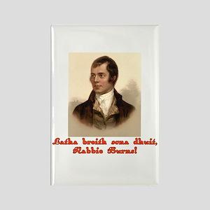 Happy Birthday in Scottish Gaelic Rectangle Magnet