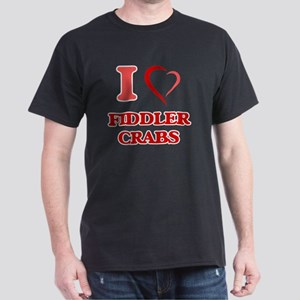 I Love Fiddler Crabs T-Shirt