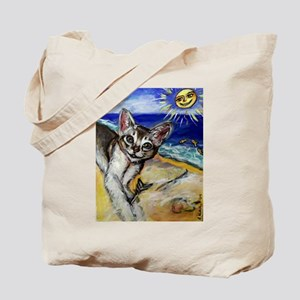 mischievous Minnow at the bea Tote Bag
