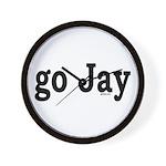 go Jay Wall Clock