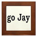 go Jay Framed Tile