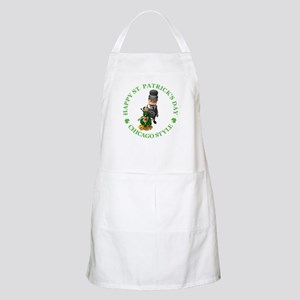 HAPPY ST PATRICK'S DAY - CHICAGO STYLE BBQ Apron