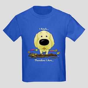 Golden - I Fetch... Kids Dark T-Shirt