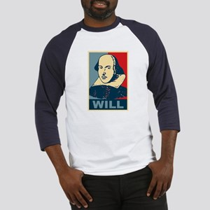 Pop Art William Shakespeare Baseball Jersey