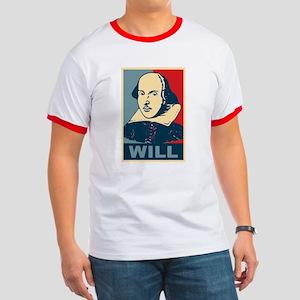 Pop Art William Shakespeare Ringer T