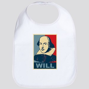 Pop Art William Shakespeare Bib