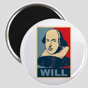 Pop Art William Shakespeare Magnet