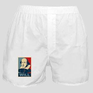 Pop Art William Shakespeare Boxer Shorts