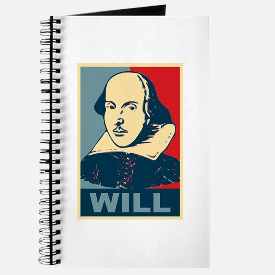 Pop Art William Shakespeare Journal
