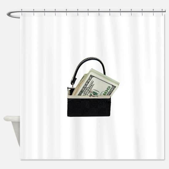 PurseMoney053009.png Shower Curtain