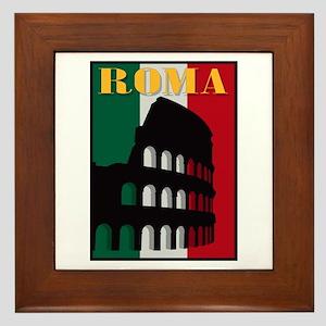 Roma Framed Tile