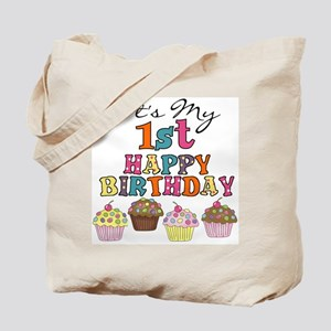 Cupcakes 1st Birthday Tote Bag
