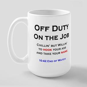 Off Duty Coffee Cup Mugs