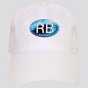 RB Rehoboth Beach Wave Oval Cap