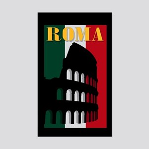 Roma Rectangle Sticker