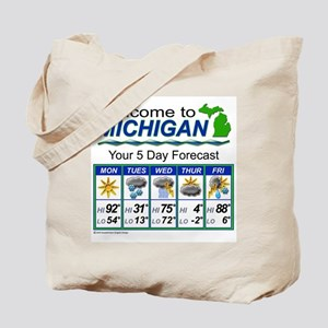 Welcome to Michigan Tote Bag