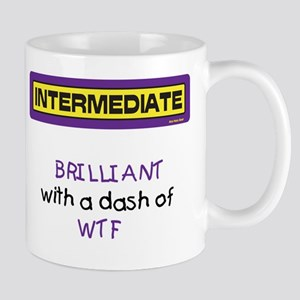 WTF Mug (Yellow and Purple)