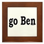 go Ben Framed Tile
