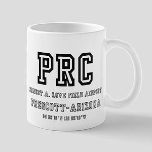 AIRPORT CODES - PRC - PRESCOTT, ARIZONA Mugs
