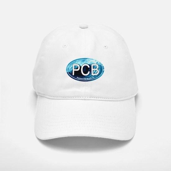 PCB Panama City Beach Oval Baseball Baseball Cap