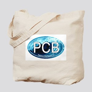 PCB Panama City Beach Oval Tote Bag